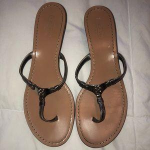Coach - Wedged Thong Sandal